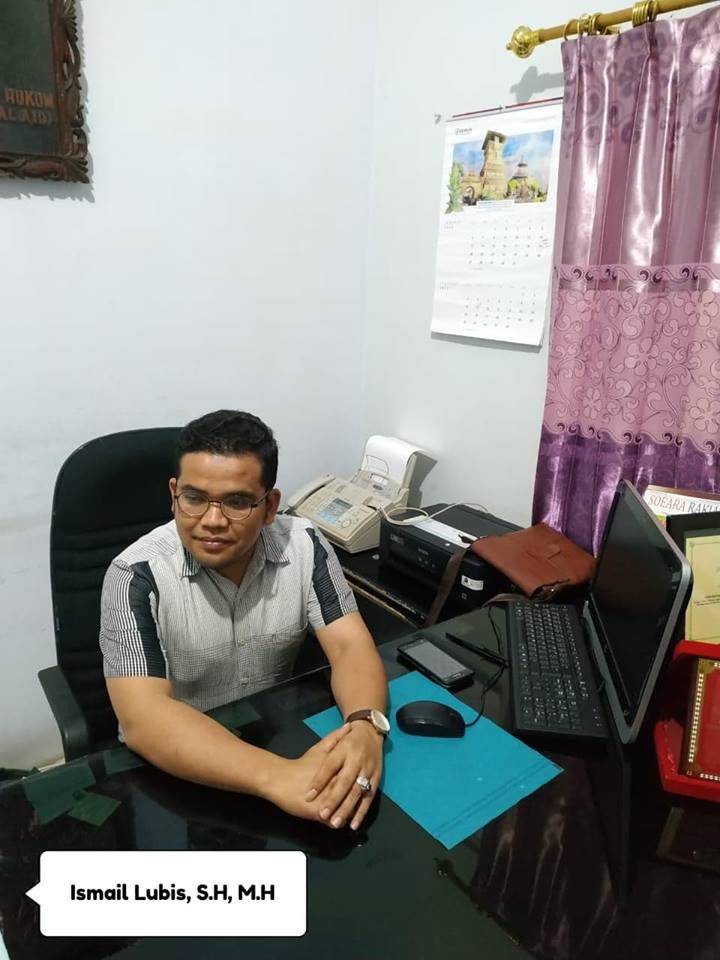 Direktur LBH Medan Ismail Lubis, S.H, M.H