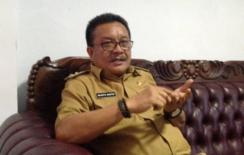 Wakil Walikota Bitung Ir.Maurits Mantir