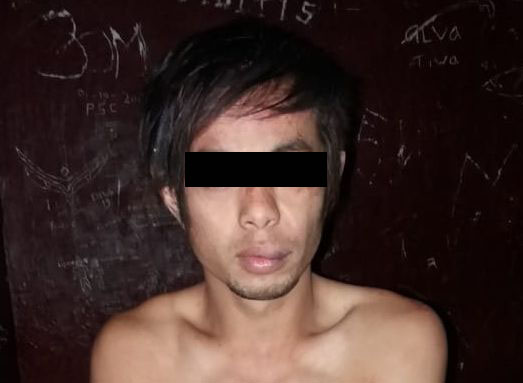 JP alias Jeifer, warga Desa Kakas Toliang, Kecamatan Kakas Barat, Kabupaten Minahasa. Lelaki JP (Jeifer) diamankan saat tertangkap tangan melakukan pencurian di gedung sarang burung walet