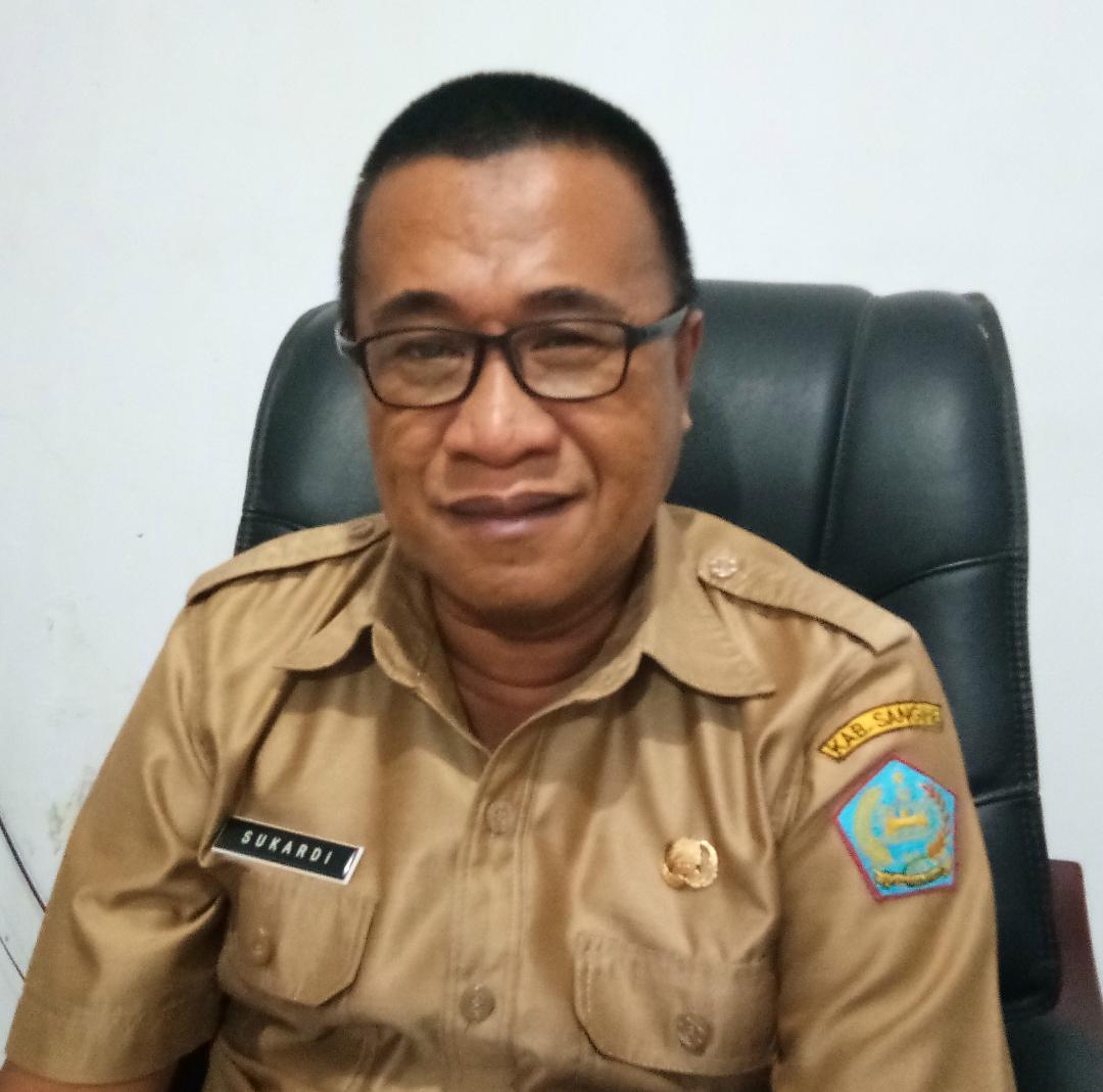 Kepala Dinas Perkim Sangihe Drs Sukardi Adilang