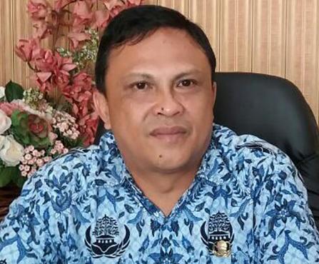 Sekretaris daerah Edwin Roring SE ME