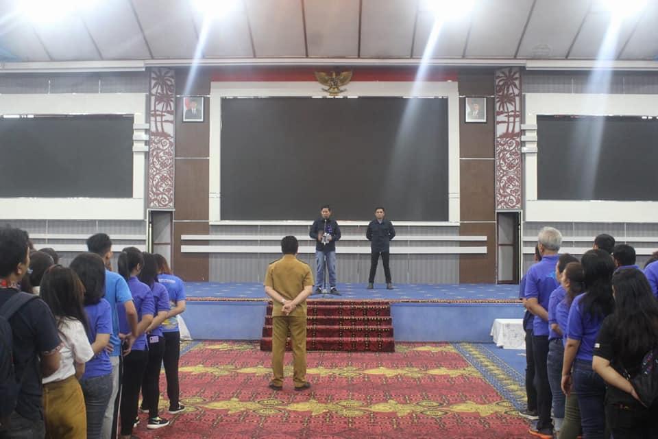 Kegiatan Apel Perdana Bulan Februari 2019 diikuti oleh ribuan ASN tersebut dipimpin langsung oleh Walikota Manado DR. Ir. G. S. Vicky Lumentut, SH, MSi, DEA