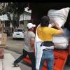 3 Ton Logistik Bantuan Bencana Pers Minsel Diangkut Ke Penampungan.