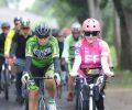 Rombongan Bersepeda Kapolda Sulut Disambut Bupati Paruntu