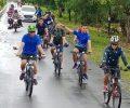 Untuk Menjaga Tubuh Tetap Fit Dandim 1312 Berolahraga Sepeda