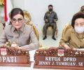 Bupati Paruntu Ikut Rapat Paripurna DPRD Tingkat l Ranperda Perubahan APBD 2020