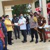 Gerakan Sejuta Masker Polres Kepulauan Talaud Bagikan Masker