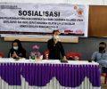 KPU Minsel Sosialisasi PKPU No 13 Thn 2020 Pemilihan Serentak di Masa Pandemi Covid-19