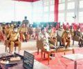 Apel Perdana Pemkab Mitra 2021 (Daring) di Pimpin Bupati Sumendap