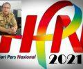 Kacab Dikda Provinsi Sulut Tomohon-Minahasa Mengucapkan Selamat HPN 2021