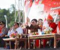 "Hadir Dalam Pesta Adat Tulude Bupati ""Tetty"" di Serbu Warga."