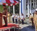 Pemkab Minut Gelar Upacara Bendera Dalam Rangka Hari Kesaktian Pancasila.