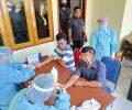 Cegah Penularan Covid-19, Bawaslu Sitaro Jalani Rapid Test