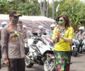 Bupati Paruntu Sambut Kedatangan Kapolda Sulut di Polres Minsel
