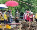 Pasca Banjir Bandang di Mitra Kementrian PUPR Turun Kelokasi Bencana Alam