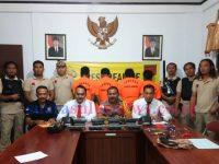 Polres Sangihe Bekuk 4 Pelaku Sindikat Pencurian Monitor Ekskavator Antar Propinsi
