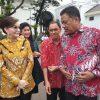 """Bupati """"Tetty"""" Hadiri Pertemuan Dengan Presiden Jokowi di Istana."""
