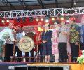 Bupati Minsel Hadiri Festival Danau Poso Ke-21 dan Budaya Poso Ke-12.