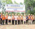 Peletakan Batu Pertama Pembangunan Gedung LPPK Kelas llB di Tomohon.