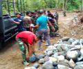 Bangun 2.250 Meter Jalan, Program TMMD Diharapkan Bantu Perekonomian Warga