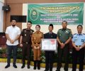 Wujudkan Daerah Bebas Korupsi PN Airmadidi Louncing WBK dan WBBM Bersama Pemkab Minut.