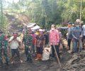 Kunjungi Lokasi Pembangunan Fisik TMMD Bersama Pangdam Xlll Merdeka Pemkab Minahasa Beri Apresiasi