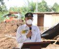 Walikota Eman Hadiri Peletakan Batu Pertama Satu Unit Tambahan Ruangan di RSUD Anugerah Tomohon.