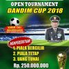Tentara Tata Lapangan Gesit,Dandim Cup 2018 Siap Ramaikan Sangihe