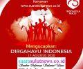 Pimpinan Redaksi, Staf Dan Karyawan www.suarasulutnews.co.id Mengucapkan Dirgahayu RI Ke-75