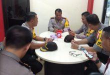 Rapat terbatas yang digelar di ruang Command Center Polres Minahasa Selatan