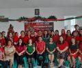 Sambut Natal dan Tahun Baru Keluarga Besar UPTD Puskesmas Ratahan Ibadah Bersama.