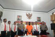 EB alias Rico (24), yang diduga menjadi pengedar obat keras tanpa izin diamankan Polres Sangihe melalui Satuan narkoba