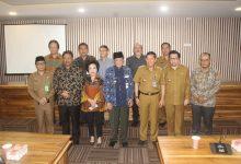 Foto Bersama Pemerintah Kota manado dan Pemerintah Tegal